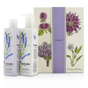 Crabtree & EvelynLavender Perfect Pair: Gel de Ba�o & Ducha 250ml + Loci�n Corporal 245ml 2pcs