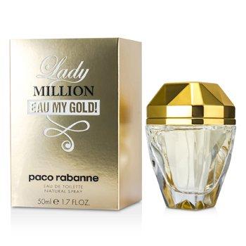 Paco Rabanne Lady Million Eau My Gold! Eau De Toilette Spray  50ml/1.7oz