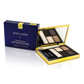 Estee Lauder Pure Color Envy Sculpting Eyeshadow 5 Color Palette - 02 Ivory Power  7g/0.24oz
