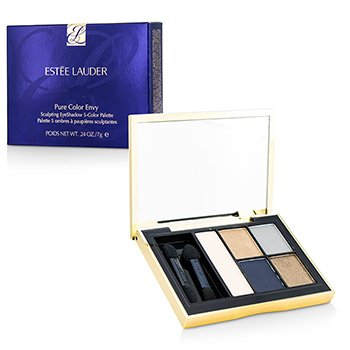 Estee Lauder Pure Color Envy Sculpting Eyeshadow 5 Color Palette – 08 Infamous Sky 7g/0.24oz