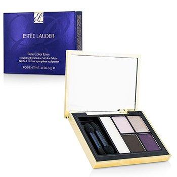 Estee Lauder Pure Color Envy Sculpting Eyeshadow 5 Color Palette – 10 Envious Orchid 7g/0.24oz