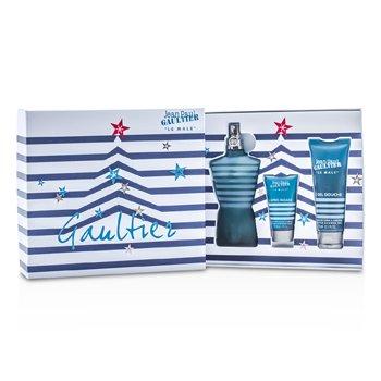 Jean Paul Gaultier Le Male Coffret: Eau De Toilette Spray 125ml/4.2oz + All-Over Shower Gel 75ml/2.5oz + After Shave Balm 30ml/1oz 3pcs
