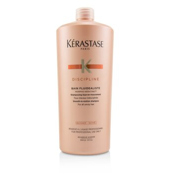 kerastase discipline bain fluidealiste smooth in motion shampoo for all unruly hair 1000ml. Black Bedroom Furniture Sets. Home Design Ideas
