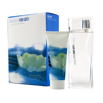 KenzoL'Eau Par Kenzo Coffret: Eau De Toilette Spray 100ml/3.4oz + Moisturizing Body Gel 75ml/2.5oz 2pcs