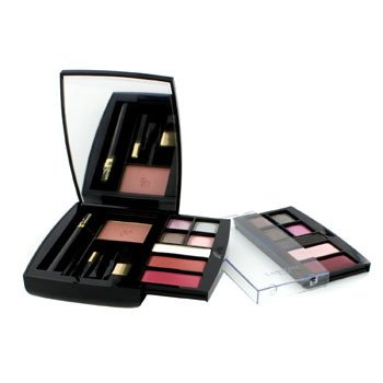 Lancome24H A Paris Day To Night Paleta de Maquillaje (1xMini Virtuose M�scara, 1xRubor Sutil, 10xSombra de Ojos, 2xColor de Labios,...)