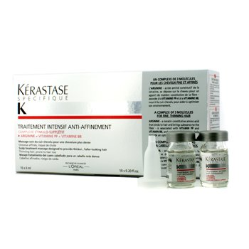 KerastaseSpecifique Intensive Scalp Treatment (For Thinning Hair, Prone to Hair Loss) 10x6ml/0.2oz