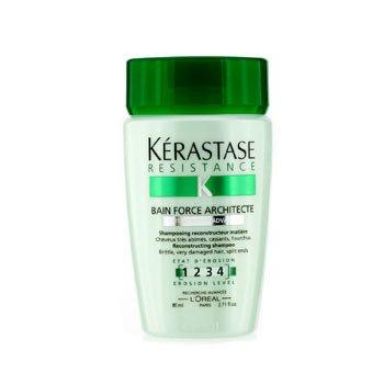 KerastaseResistance Bain Force Architecte Reconstructing Shampoo (For Brittle, Very Damaged Hair, Split Ends) 80ml/2.71oz