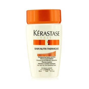 KerastaseNutritive Bain Nutri-Thermique Thermo-Reactive Intensive Nutrition Shampoo (For Very Dry and Sensitised Fine Hair) 80ml/2.71oz