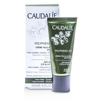 Caudalie Polyphenol C15 Anti-Wrinkle Eye & Lip Cream 15ml/0.5oz