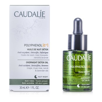 Caudalie Polyphenol C15 Overnight Detox Oil 30ml/1oz