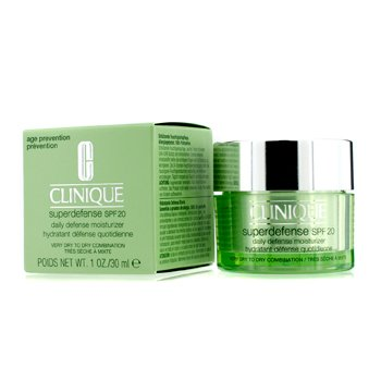 CliniqueSuperdefense Daily Defense Humectante Con SPF 20 (Muy Seca a Mixta Seca) 30ml/1oz