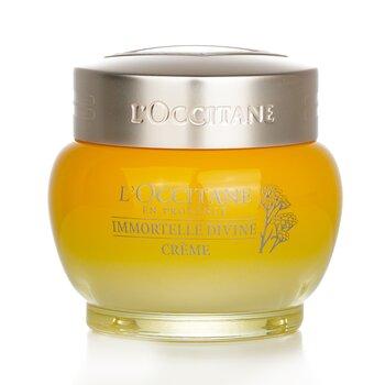 L'Occitane Immortelle Divine Cream (Formula Baru) - Krim Pelembab  50ml/1.7oz