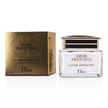 Christian Dior Prestige La Creme Demaquillante Limpiador Crema a Aceite Para Rostro & Ojos  200ml/6.7oz