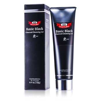 Dr. Ci:LaboBasic Black Charcoal Cleansing Gel (Make Up Remover) 125g/4.41oz