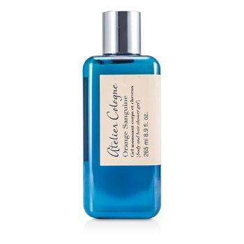 Atelier Cologne Orange Sanguine Body & Hair Shower Gel  265ml/8.9oz