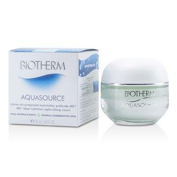 Biotherm Aquasource Crema Reponedora Hidrataci�n Profunda de 48H (Piel Normal/Mixta)  50ml/1.69oz