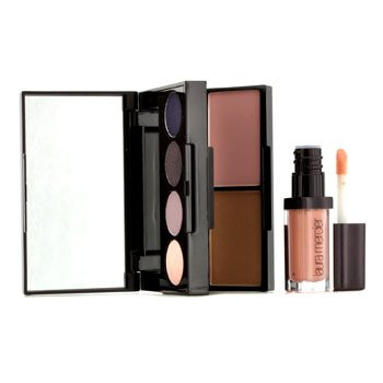 Laura MercierColour To Go Portable Palette for Eyes, Cheeks & Lips - Smoky Violets (3x Eye Colours, 1x Eye Liner, 1x Lip Glace...)