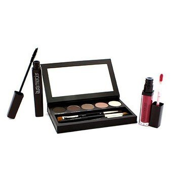 Laura MercierNude Smoky Eye Palette Collection (1xMascara, 1xLip Glace, 1xCake Eye Liner, 4xEye Colour, 3xBrush) 10pcs