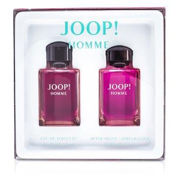 JoopHomme Coffret: Eau De Toilette Spray 75ml/ 2.5oz + Splash Para Despu�s de Afeitar 75ml/2.5oz 2pcs