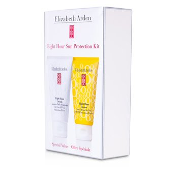 Elizabeth ArdenKit Eight Hour Sun Protection: Hidratante Diario 49g + Defensa Solar 49g 2pcs