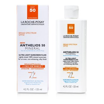 La Roche PosayNew Anthelios 50 Mineral Protector Solar Flu�so Ultra Ligero Para Cuerpo (Fecha Vto. 05/2015) 125ml/4.2oz