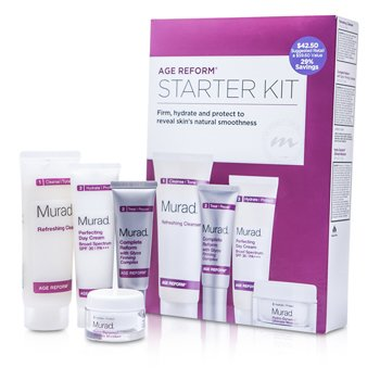 MuradAchieve Ageless Complete Skin Renewal Kit: Cleanser + Day Cream + Complete Reform + Ultimate Moisture (Exp. Date 03/2015) 4pcs