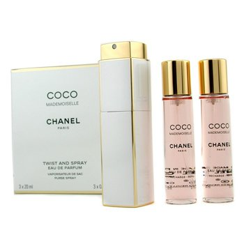 ChanelCoco Mademoiselle Twist & Spray Eau De Parfum 3x20ml/0.7oz