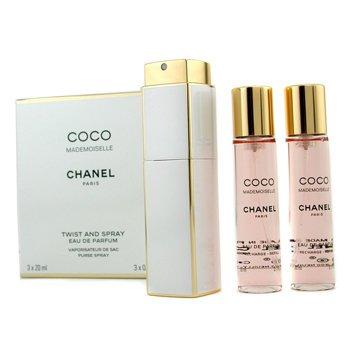 ChanelCoco Mademoiselle Twist & Spray Eau De Parfum 3x20ml/0.7oz