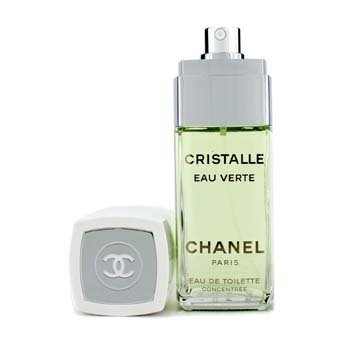 ChanelCristalle Eau Verte Eau De Toilette Concentree Spray 100ml/3.4oz