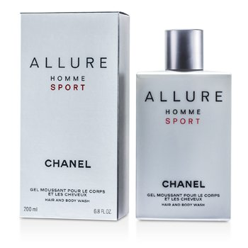 ChanelAllure Homme Sport Hair & Body Wash (Made in USA) 200ml/6.8oz
