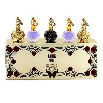 Anna SuiThe Boheme Collection Coffret: La Nuit De Boheme Eau De Parfum + 2x La Nuit De Boheme Eau De Toilette + 2x La Vie De Boheme Eau De Toilette 5x4ml/0.14oz
