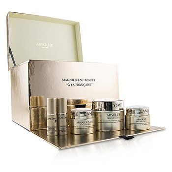 LancomeAbsolue Precious Cells Coffret: Absolue SPF 15 50ml & 15ml + Cuidado Noche 15ml + Concentrado de Ojos 5ml + Oleo-Suero 5ml 5pcs