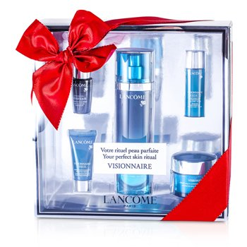 LancomeVisionnaire (Your Perfect Skin Ritual) Set: Skin Corrector 50ml & 15ml + Multi-Correcting Cream 15ml + Concentrate 7ml + Eye Corrector 5ml 5pcs