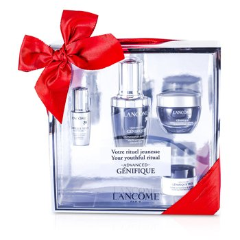 LancomeAdvanced Genifique (Your Youthful Ritual) Set: Concentrate 30ml + Cream 15ml + Yeux Light-Pearl 5ml + Eye Cream 5ml 4pcs