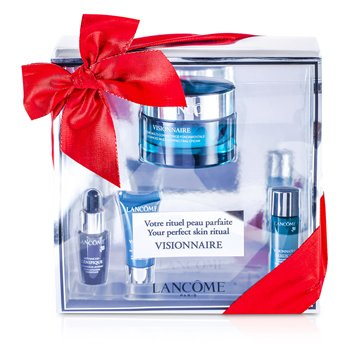 LancomeVisionnaire (Your Perfect Skin Ritual) Set: Advanced Cream 50ml + Skin Corrector 7ml + Concentrate 7ml + Eye Contour 5ml 4pcs