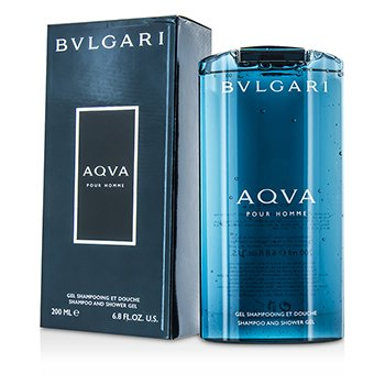 BvlgariAqva Pour Homme Shampoo & Shower Gel 200ml/6.8oz
