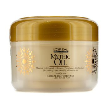 L'Oreal Mythic Oil Nourishing Masque (For All Hair Types)  200ml/6.7oz