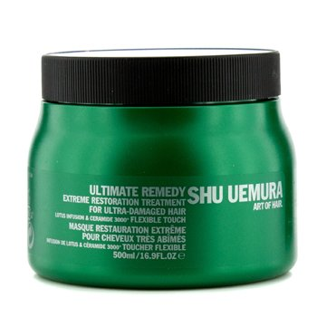 Shu UemuraUltimate Remedy Extreme Restoration Treatment (For Ultra-Damaged Hair) 500ml/16.9oz