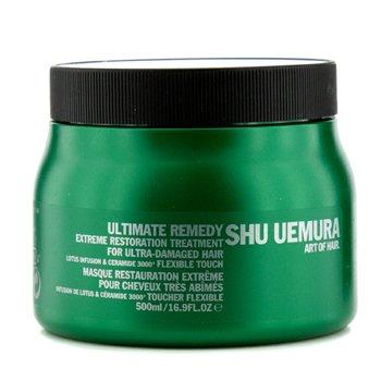 Shu UemuraUltimate Remedy Extreme Restoration Treatment (For Ultra-Damaged Hair) 500ml/16.9oz