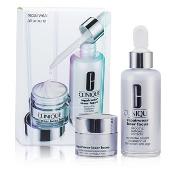 Repairwear All Around Set: Laser Focus Serum 50ml + Eye Cream 15ml