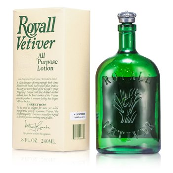 Royall Fragrances Royall Vetiver Loci�n Splash Multi Prop�sito  240ml/8oz