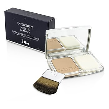 Christian Dior Diorskin Nude Compact Nude Glow Versatile Powder Makeup SPF 10 - # 032 Rosy Beige  10g/0.35oz