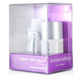 Dermalogica Super Rich Repair Limited Edition Set: Super Rich Repair 50ml + Eye Make-Up Remover 30ml + Eye Complex 5ml 3pcs
