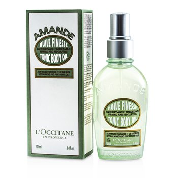 L'OccitaneAlmond Tonic Body Oil (Firming And Resculpting) 100ml/3.4oz