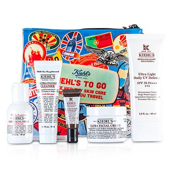 Kiehl s Ultra Facial Hydration Set  Daily Defense SPF 50   Cream