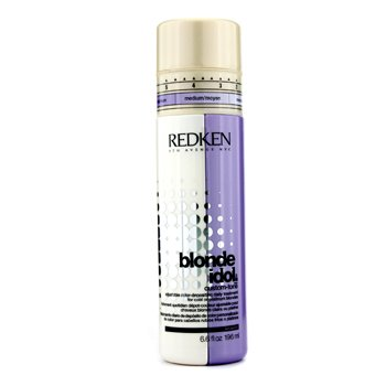 RedkenBlonde Idol Custom-Tone Adjustable Color-Depositing Daily Treatment (For Cool or Platinum Blondes) 196ml/6.6oz