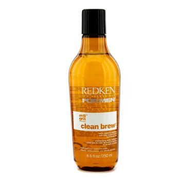 RedkenMen Clean Brew Extra Cleansing Shampoo (Extra Clean Hair, Balanced Scalp) 250ml/8.5oz