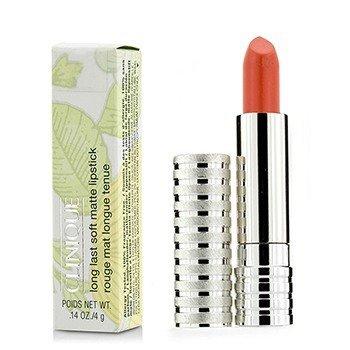 Clinique Long Last Lipstick – No. 46 Mandarin (Soft Matte) 4g/0.14oz