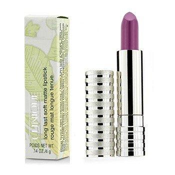 Clinique Long Last Lipstick – No. 51 Plum (Soft Matte) 4g/0.14oz