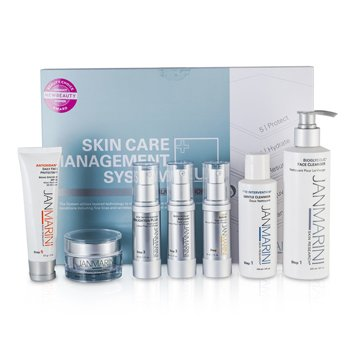 Jan MariniSkin Care Manag. System Plus: 2x Cleanser+Face Protect.+Serum+2x Lotion +Cream Normal/Comb. Skin (Exp. Date 07/2015) 7pcs